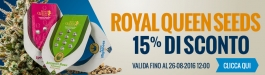 15% Di Sconto Royal Queen Seeds